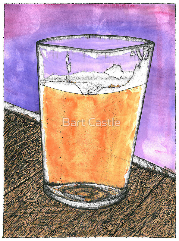 Beer - Original Fantasy & Whimsical Art by Bart Castle