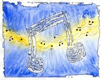 Electric Blues Notes - Original Music and Musical art by Bart Castle - bartcastle.com