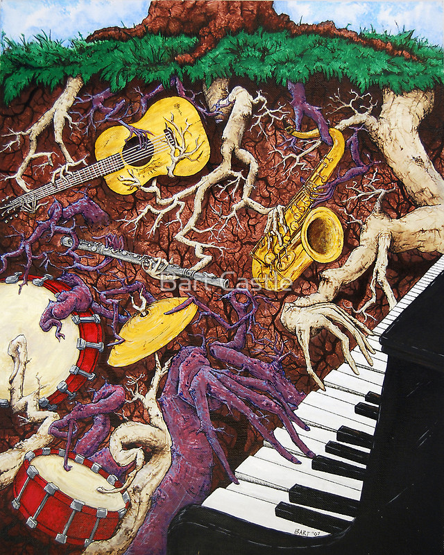 Roots Rock - Original Music & Musical Art by Bart Castle