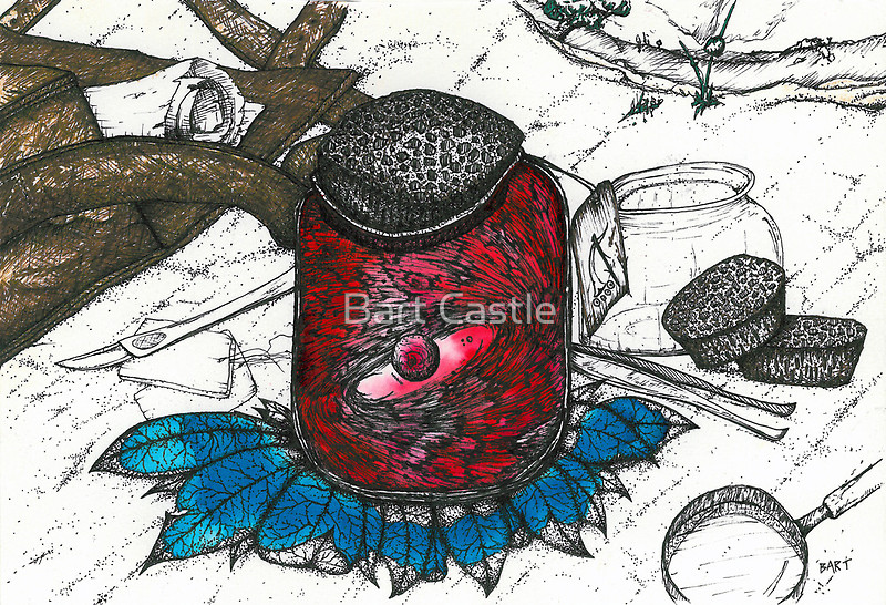 Specimen 1A - Original Fantasy & Whimsical Art by Bart Castle